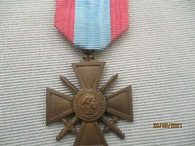 £15.50 • Buy French Croix De Guerre  T.o.e  In Nice Condition