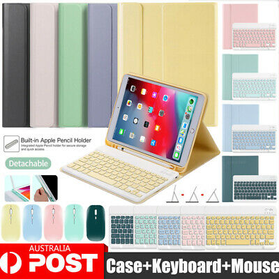 AU19.95 • Buy Smart Case With Bluetooth Keyboard Mouse For IPad 5/6/7/8th Air 4th Pro 10.5 11