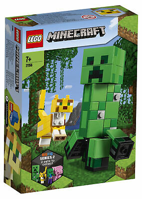 AU39 • Buy Lego Minecraft BigFig Creeper And Ocelot (21156) - FAST SHIPPING And WELL PACKED