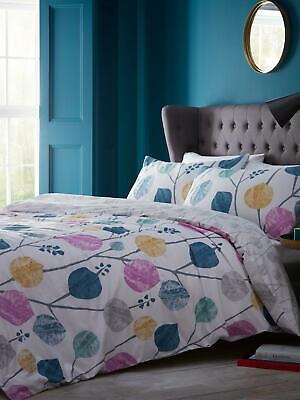 £32.99 • Buy Jeff Banks Studio * Abstract Leaf * Double Duvet Set, New In Wrapper