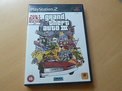 £3 • Buy Sony PS2 Grand Theft Auto III 3 Game - Good Condition