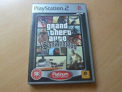 £5 • Buy Sony PS2 Grand Theft Auto San Andreas Game - Good Condition