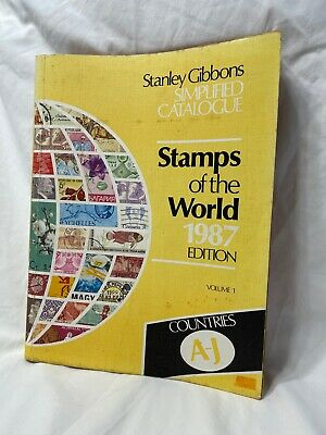£9.99 • Buy Volume 1 Stanley Gibbons Simplified Catalogue Stamps Of The World 1987 Edition