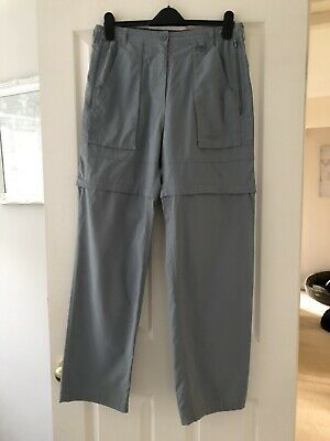 £4.99 • Buy Peter Storm Ladies 2in1 Grey Trousers/Shorts Size 14L
