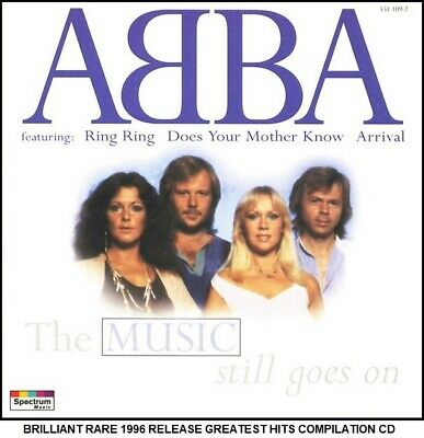 £3.49 • Buy ABBA - A Very Best Greatest Hits Collection - RARE 1996 70's 80's Pop CD