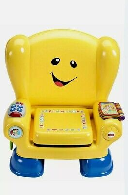 £9.99 • Buy Fisher Price LAUGH & LEARN SMART STAGES CHAIR YELLOW Baby Role Play Toy 12m+ BN