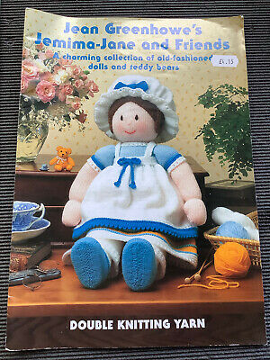 £4.99 • Buy Jean Greenhowes's Jemima-Jane And Friends Knitting Pattern Book