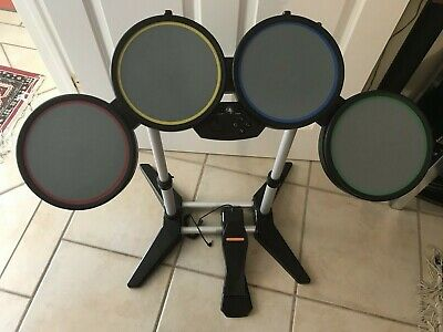 £58.20 • Buy Rock Band Ps3 Harmonix Wired Drum Set 822148, With Pedal & Rock Band Game. Vg.