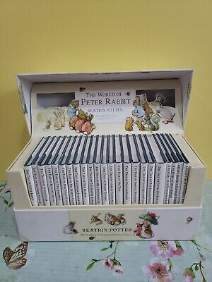 £20 • Buy 2002 Beatrix Potter Book Set The World Of Peter Rabbit Box Collection