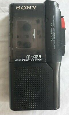 £17.99 • Buy SONY M-425 MicroCassette-Corder Voice Recorder Dictation Machine!