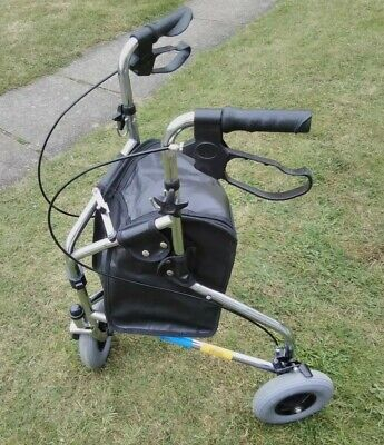 £35 • Buy Days Mobility Aid Three Wheeled Walker With Shopping Bag