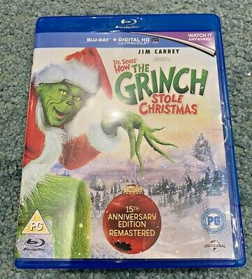 £8.99 • Buy How The Grinch Stole Christmas (Blu-ray,+ UV CODE  2015)