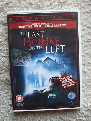 £1 • Buy Last House On The Left (DVD, 2009) - Extended Version