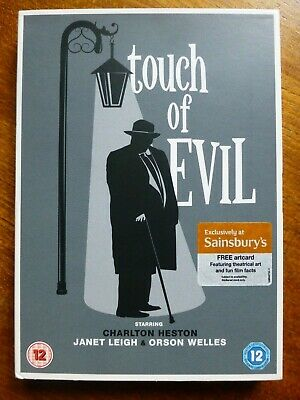 £4.99 • Buy Touch Of Evil DVD (Janet Leigh, Orson Welles), With Artcard And Cover Sleeve