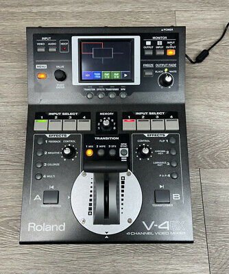 £603.76 • Buy Roland V-4EX Four Channel Digital Video Mixer - *Mint Condition*