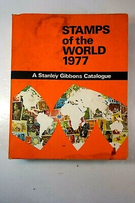£15 • Buy A Stanley Gibbons Catalogue Stamps Of The World 1977