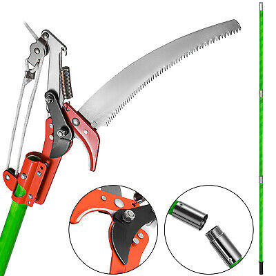£58.31 • Buy VEVOR 26 FT Pole Saw Telescopic Long Reach Extendable Pruning Tree Trimmer Saw