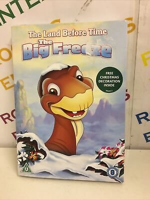 £3.45 • Buy The Land Before Time The Big Freeze DVD New & Sealed Sticker Mark On Sleeve