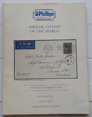 £14.55 • Buy Philip Airmail Covers Of The World Auction Catalogue
