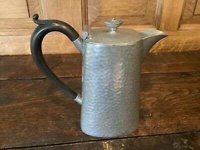 £3.49 • Buy Vintage CIVIC Pewter Lided Jug Hammered English Pewter 6  15cms Tall