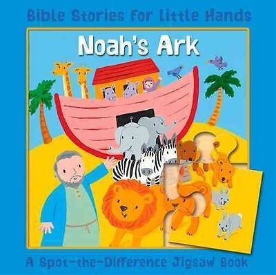 £3.49 • Buy Noah's Ark: Bible Stories For Little Hands: A Spot-the-Difference Jigsaw Book, L