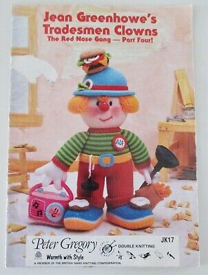 £5.99 • Buy Jean Greenhowe's ~ Tradesman Clowns ~ The Red Nose Gang Part Four!