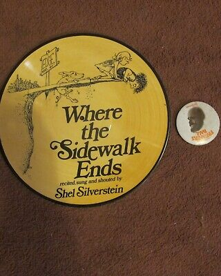 £24.99 • Buy Shel Silverstein Picture Disc LP And Badge Dr Hook And The Medicine Show
