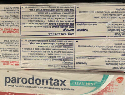 £6.47 • Buy New 12 Pack Parodontax Toothpaste For Bleeding Gums .8 Oz Travel Size Ex 2020
