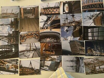 £15.97 • Buy HMS Victory Admiral Nelson's Flagship @ Portsmouth UK 35 4x6 Color Photos