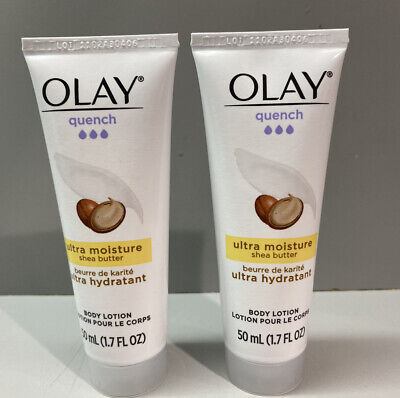 AU13.73 • Buy Olay Quench Ultra Moisture Body Lotion Shea Butter 1.7 Fl Oz Set Of 2