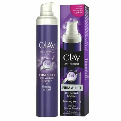 £6.99 • Buy Olay Anti-Wrinkle Booster Firm & Lift 2-In-1 Day Cream & Firming Serum - 50ml