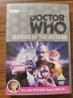 £4 • Buy Terror Of The Autons Doctor Who DVD