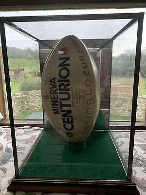 £90 • Buy Wales Rugby Squad Signed Ball & Case 1987?