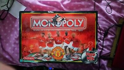 £14 • Buy Monopoly Board Game: Manchester United Edition 2000/2001 - 100% Complete!