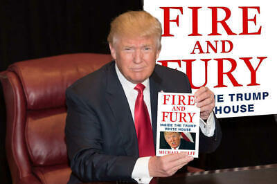 AU1076.17 • Buy Fire And Fury : Inside The Trump White House By Michael Wolff