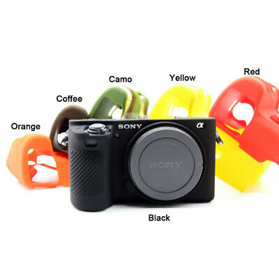 AU12.99 • Buy Silicone Case Soft Protective Skin For Sony A6100 A6300 A6400 A6500 A6600 Camera