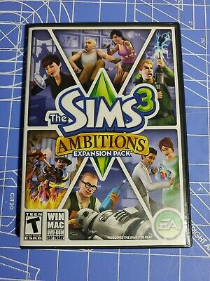 £5.08 • Buy The Sims 3 Ambitions PC Game Complete 2010 Expansion