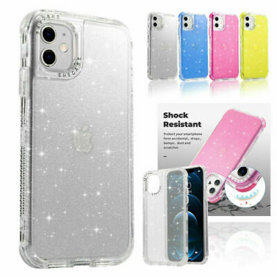 AU10.59 • Buy For IPhone 13 12 11 Pro Max XR X XS 8 7 Plus Bling Glitter Case Shockproof Cover