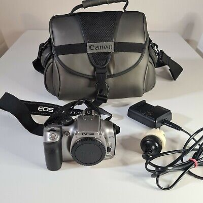 £43.65 • Buy Canon EOS 300D + Manuals + Battery Charger CB-SL + Case