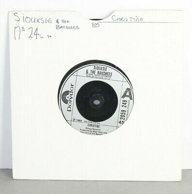 £5.49 • Buy Siouxsie And The Banshees - Christine - 7  Vinyl Single (1980)- *Excellent*