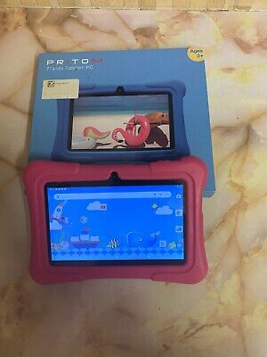 £19.99 • Buy Pritom 7 Inch Kids Tablet   Quad Core Android,16GB ROM   Pink
