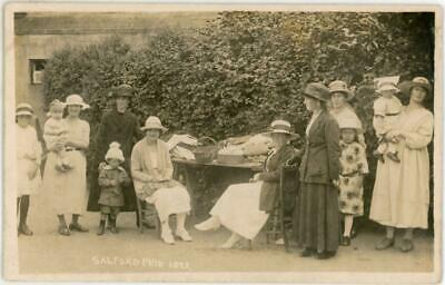 £4.99 • Buy 1922 Salford Fete Manchester Lancashire Fr Packer Real Photo Postcard
