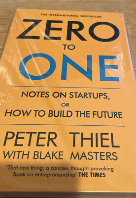 AU24.62 • Buy Zero To One Notes On Start-Ups, Or How To Build The Future - BRAND NEW