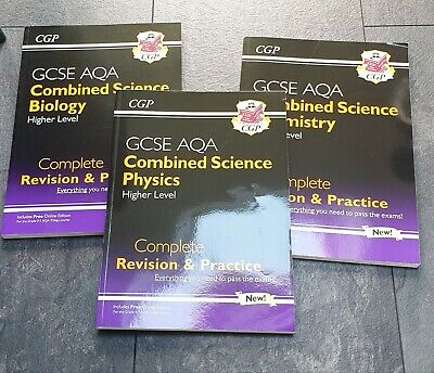 £7.50 • Buy CGP GCSE AQA Combined Science (Higher Level) Revision And Practice