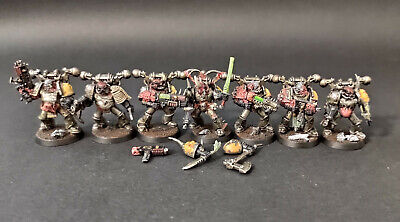 £39.02 • Buy Warhammer 40k Chaos Space Marines Plague Marines #4 Set - Well Painted Finecast