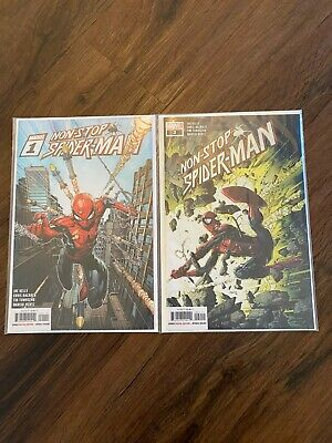 £6 • Buy Non-Stop Spider-Man #1-2 1 2 . *BAGGED AND BOARDED* NM