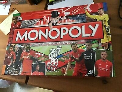 £22 • Buy MONOPOLY Liverpool FC 2015/2016 Edition Board Game (Brand New-Never Played)