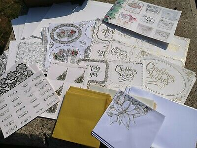 £10.99 • Buy Kanban Christmas Decadent Cardmaking Kit Makes Approx 48 Cards Inc Envelopes New