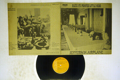 £2.92 • Buy JEFFERSON AIRPLANE BLESS ITS POINTED LITTLE HEAD RCA SHP-6039 Japan VINYL LP