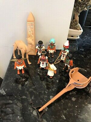 £12.50 • Buy Playmobil Egyptian Figures And Accessories Bundle